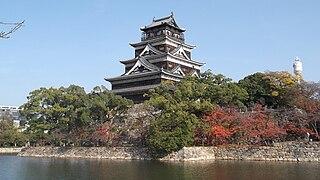 Keep tower of Hiroshima Castle 20121122, 000