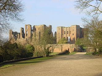 Warwickshire - Kenilworth Castle