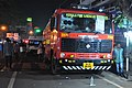 Kerala Fire and Rescue Services Ashok Leyland fire engine standby during a festival.jpg