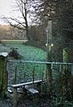 Kerry's Post, stile by Short's Coppice - geograph.org.uk - 1116432.jpg