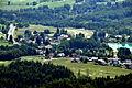Keutschach Plaschischen Keutschacher See Blick vom Pyramidenkogel 15072010 11.jpg