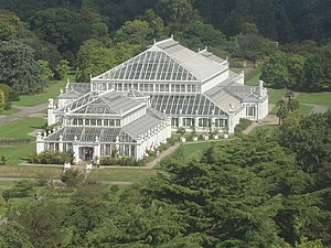 Kew Gardens - Image: Kew Gardens Temperate House from the Pagoda geograph.org.uk 227173