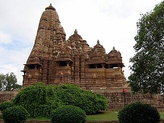 Tourism in Madhya Pradesh - Kandariya Mahadeva Temple, largest temple in Khajuraho
