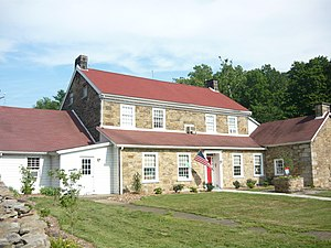 Unity Township, Westmoreland County, Pennsylvania - Kingston House (1815) National Register of Historic Places