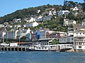 Kingswear viewed from the Dart Castle ferry - geograph.org.uk - 1449519.jpg