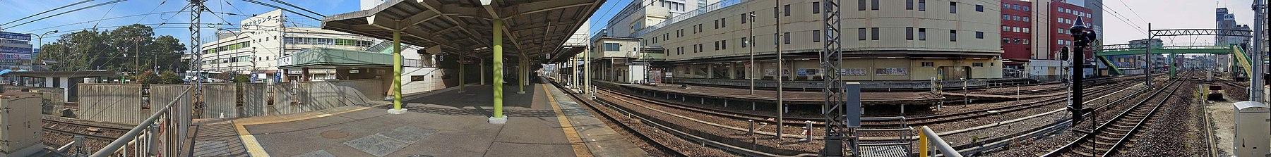 Kintetsu Tsu station , 近鉄 津駅 - panoramio.jpg