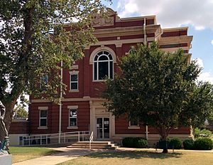 Kiowa County Courthouse in Hobart