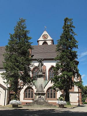 Kirchzarten - Image: Kirchzarten, die Sankt Gallus Kirche foto 6 2013 07 25 14.20