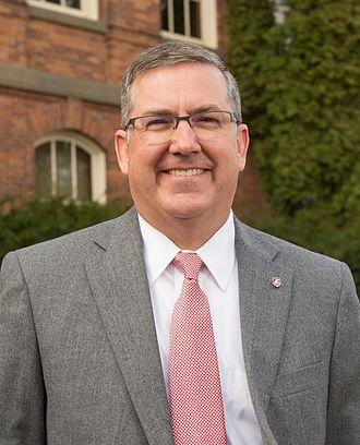 Kirk Schulz - Image: Kirk Schulz, WSU portrait (cropped)