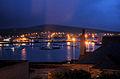 Kirkwall Harbour at night - geograph.org.uk - 1300422.jpg