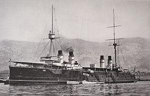 French cruiser Kléber - Image: Kléber Marius Bar img 3140
