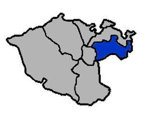 Xinyi District, Keelung - Xinyi District in Keelung City