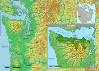 Klallam language language