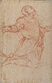 Kneeling Male Figure with Outstretched Arms (recto); Semi-Nude Seated Male Figure seen from Behind (verso) MET 1994.331 RECTO.jpg