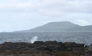 Knockmore, Mayo - Knockmore Mountain is clearly seen as the highest point on Clare