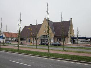 Knokke railway station railway station in Belgium