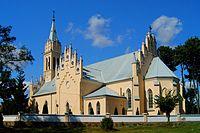 Kościoł w Chodczu widok od tyłu HWsnajper.JPG