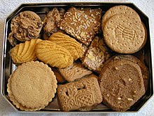 Cookies Packed In A Tin For Shipment