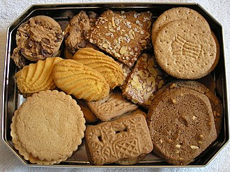 Cookie - Cookies packed in a tin for shipment
