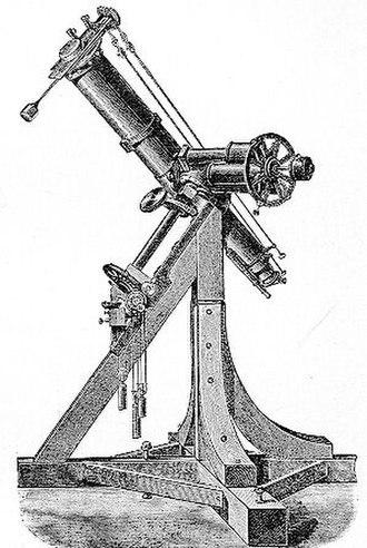 Koenigsberg Observatory - Fraunhofer's heliometer