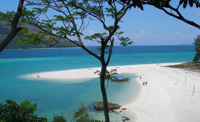 Hat Pramong, Pantai Matahari Terbenam
