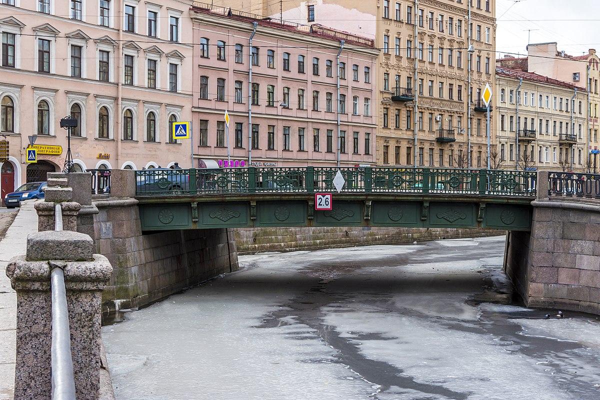 The bridges of St. Petersburg: Grenadier Bridge