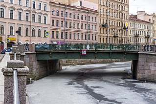 Kokushkin Bridge bridge in Russia