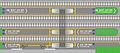 Korail Masan station platform map ko.jpg