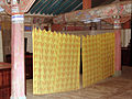 Korea-Goheung Hyanggyo 5364-07 Shrine Alter Curtain.JPG