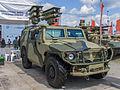 Kornet-EM anti-tank vehicle at Engineering Technologies 2012.jpg