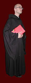 A Roman Catholic monk