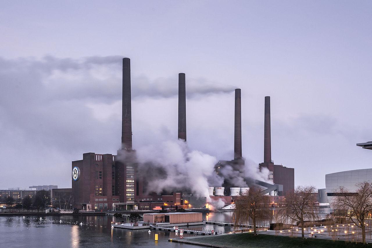 Heizkraftwerk Nord/Süd von Ostsüdost