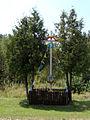 Krasnobród - krzyż przydrożny - DSC03722 v1.jpg