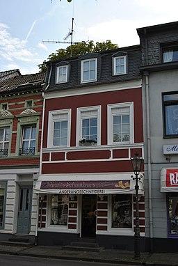 Am Marktplatz in Krefeld