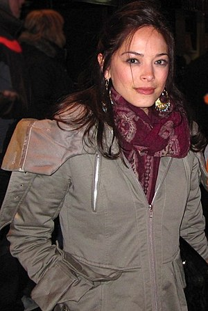 Canadian actress Kristin Kreuk from Smallville