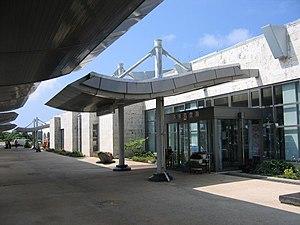 Kumejima Airport - Image: Kumejima Airport UEO