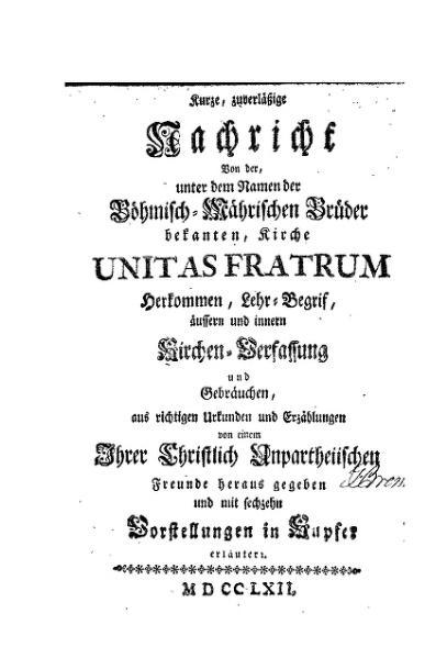 File:Kurze Nachricht von der Kirche Unitas Fratrum.djvu