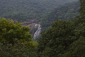 Kutladampatti Falls - Image: Kutladampatti waterfalls vadipatti Long View