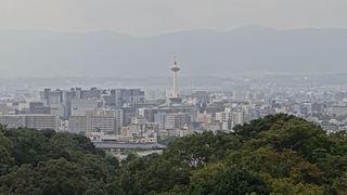 Kyoto City in Kansai, Japan