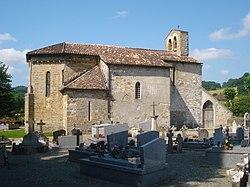 L'Hôpital-d'Orion (Pyr-Atl, Fr) église et cimetière.JPG