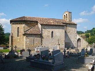 L'Hôpital-d'Orion - The church of Sainte-Marie-Madeleine