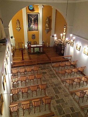 L'Hospitalet-près-l'Andorre - Interior of the parish church at L'Hospitalet-près-l'Andorre.