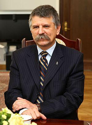 Fidesz - Image: László Kövér Senate of Poland 01