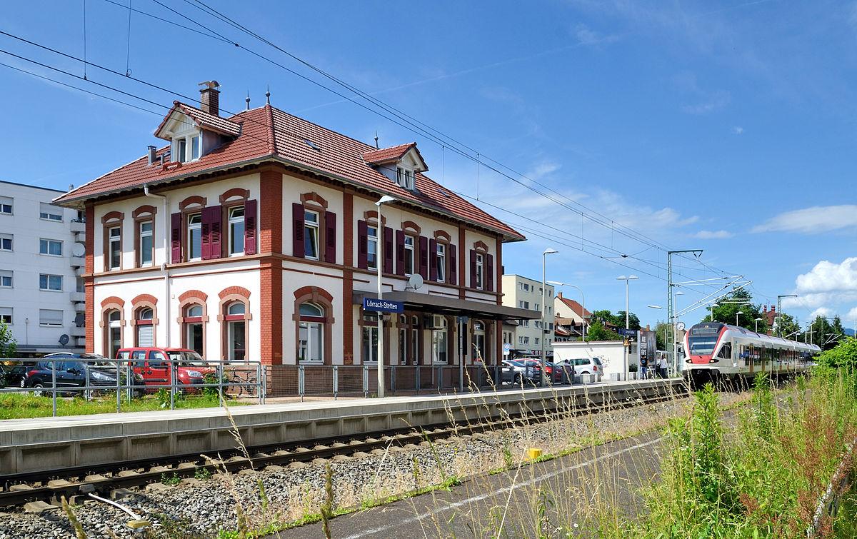 Gare De L U00f6rrach