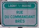 L2767 - Plaque de rue - Rue du Commandant Brès.jpg