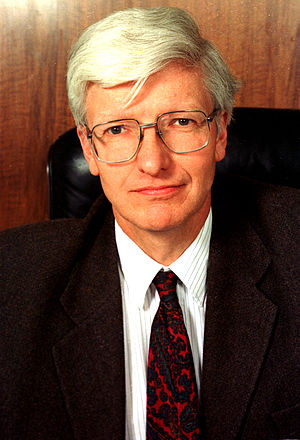 Christopher Llewellyn Smith - Sir Christopher Llewellyn Smith during his term of office as Director General of CERN in 1996