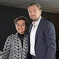 LPAA Action Day - Christiana Figueres Leonardo di Caprio (23587789576).jpg