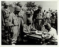 LTC SYLVESTER DEL CORSO COMMANDER OF THE, 1ST BATTALION 145TH INFANTRY, RECEIVES THE SURRENDER OF JAPANESE FORCES ON THE ISLAND OF LUZON..jpg