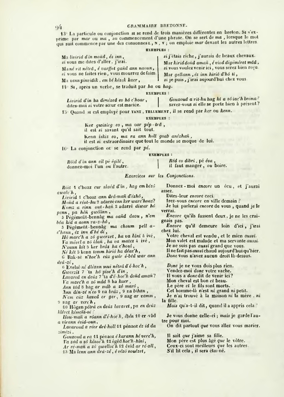 Page La Villemarque Dictionnaire Francais Breton De Le