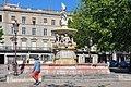 La fontaine de Neptune, Place Carnot, Carcassonne, Languedoc-Roussillon, France - panoramio.jpg